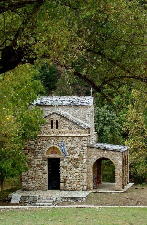 Byzantine church of Zoodohos Pigi, Elati, Arcadia, Greece | by Dennis Dimitrakopoulos