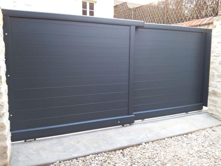 1000 id es sur le th me portail aluminium coulissant sur pinterest portail aluminium. Black Bedroom Furniture Sets. Home Design Ideas