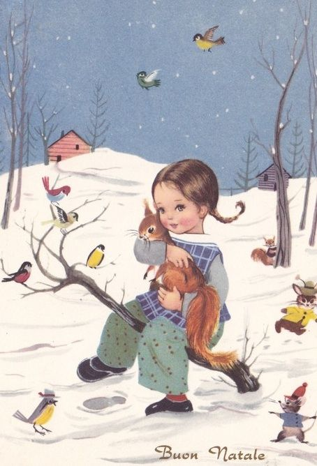 sweet winter illustration