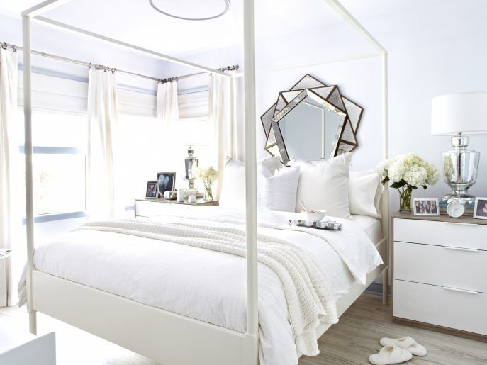 White bedroom design with beautiful nigthstand | www.bocadolobo.com #bocadolobo #luxuryfurniture #exclusivedesign #interiodesign #designideas #bedroomideas #nightstandsideas #modernnightstands