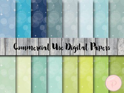 DP117 Dreamy Bubbles Digital Papers