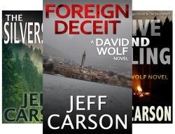 David Wolf (9 Book Series) by  Jeff Carson