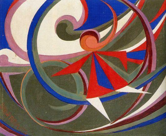 Giacomo Balla, Bambina con cerchio