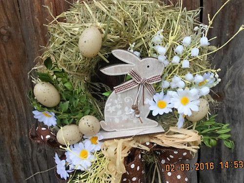 senový ..Velikonoční se zajíčkem