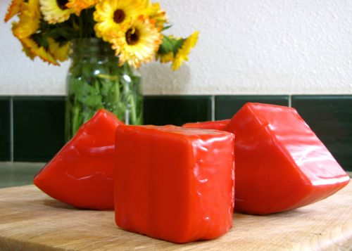 Instructions for waxing cheese for food preservation.