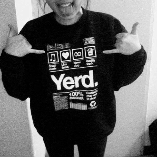 Currently in love with everything about this sweatshirt. Quality work, swag, family, music- sounds like yearbook