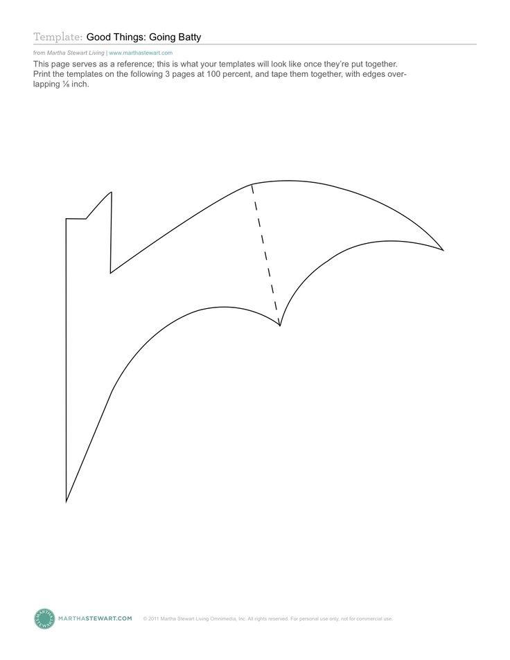 Die besten 25+ Bat stencil Ideen auf Pinterest Fledermaus muster - bat template