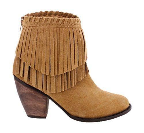 Oferta: 79.9€ Dto: -49%. Comprar Ofertas de MTNG 94361 SERRAJE MOSTAZA - Botas para mujer, color camel, talla 40 barato. ¡Mira las ofertas!