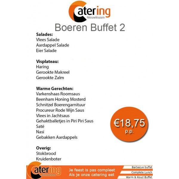 Catering Nieuwleusen Boeren Buffet 2