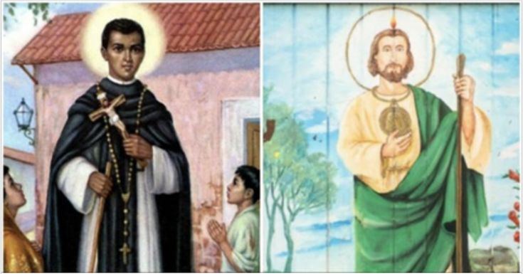 Whether you go to church and read the bible every Sunday or not,let's see how much you paid attention to everything your mom taught you about Catholic Saints. Flip the card to find out if you guessed the name of the Santo right.    [br]  READ: How Churches Are Helping Immigrants  Hit the sh