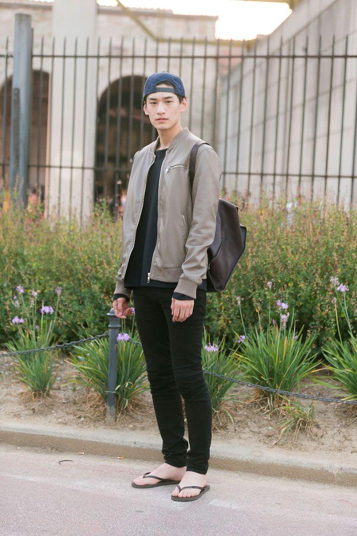 On The Street: MFW Day 1 via models.com Kim Tae Hwan