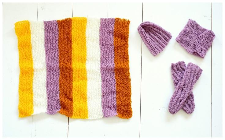 Handmade Vibeke  Småstrikk til Amandaprosjektet