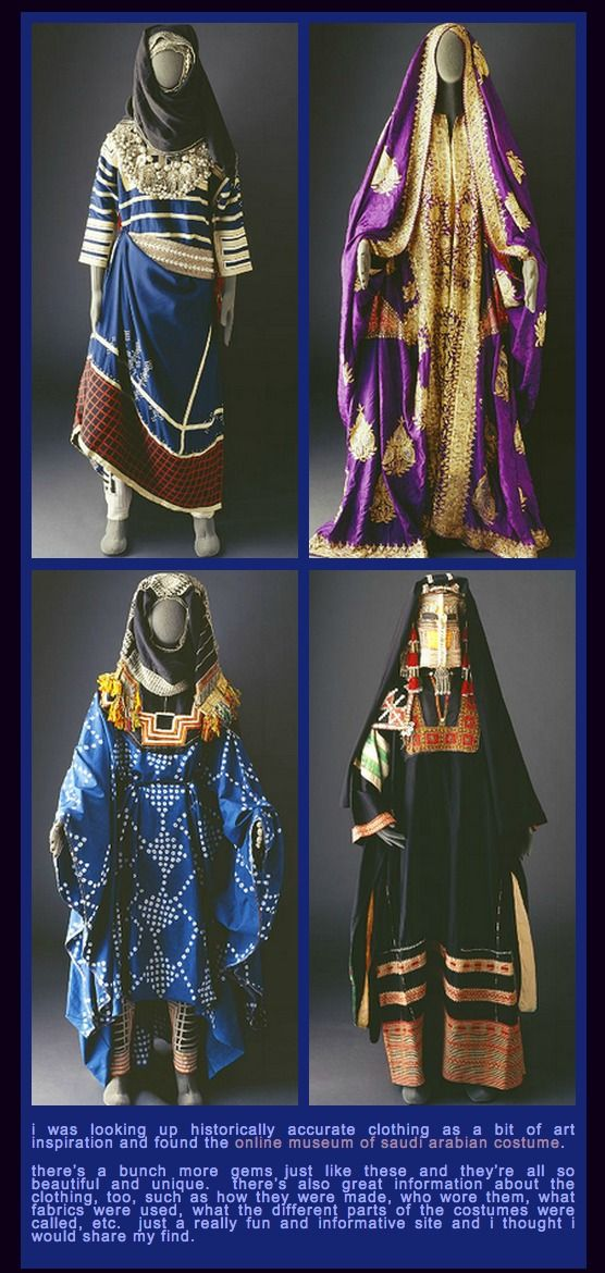 Museum of Saudi Arabian Costume (For Reference)