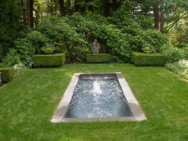 tranquil reflecting pool outdoor spaces pinterest