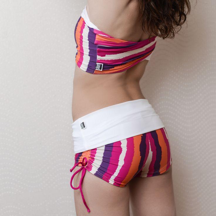 Siluet Yoga Wear | Shorts WAKE me UP with folding #siluetyogawear #madewithloveforyou