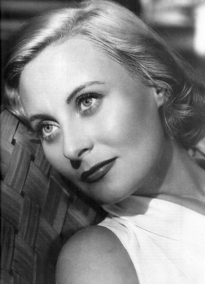 French Film Actress Michèle Morgan (February 29, 1920 - December 20, 2016) whose career spanned 3 decades starting in the 1930s.