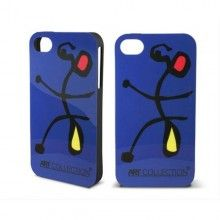 Forro iPhone 4 4S Art Collection - Gel Miro mod 1  CO$ 32.024,36