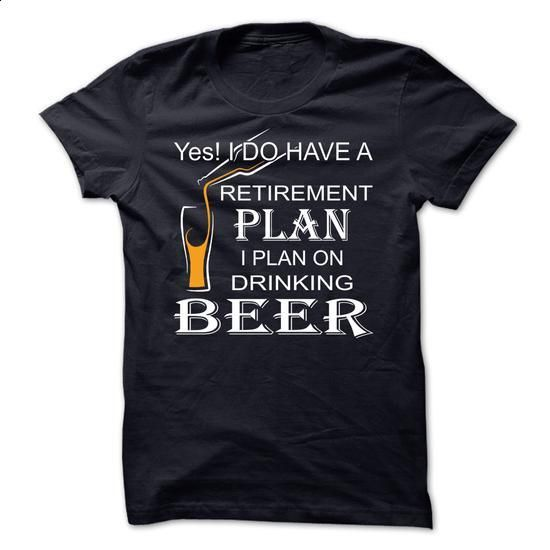 I plan on drinking beer - #tee quotes #hipster tshirt. PURCHASE NOW => https://www.sunfrog.com/Funny/I-plan-on-drinking-beer-68191757-Guys.html?68278