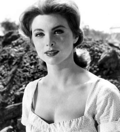 Tina Louise (best known as Ginger on Gilligan's Island)
