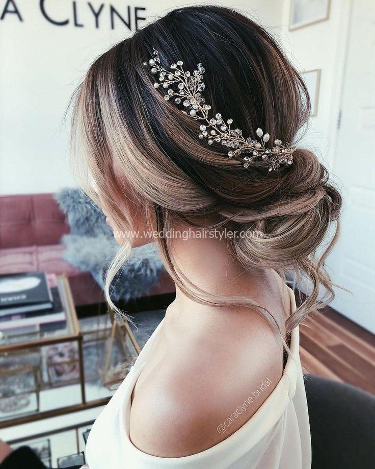 Mit diesen 57 Beautiful Messy Wedding Hair, textur…