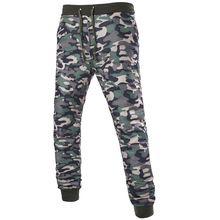 Camo Joggers Pantalones Lápiz 2016 de La Moda Slim Fit Pantalones de Camuflaje Hombres Pantalones De Pista Nueva Llegada KH853402(China (Mainland))