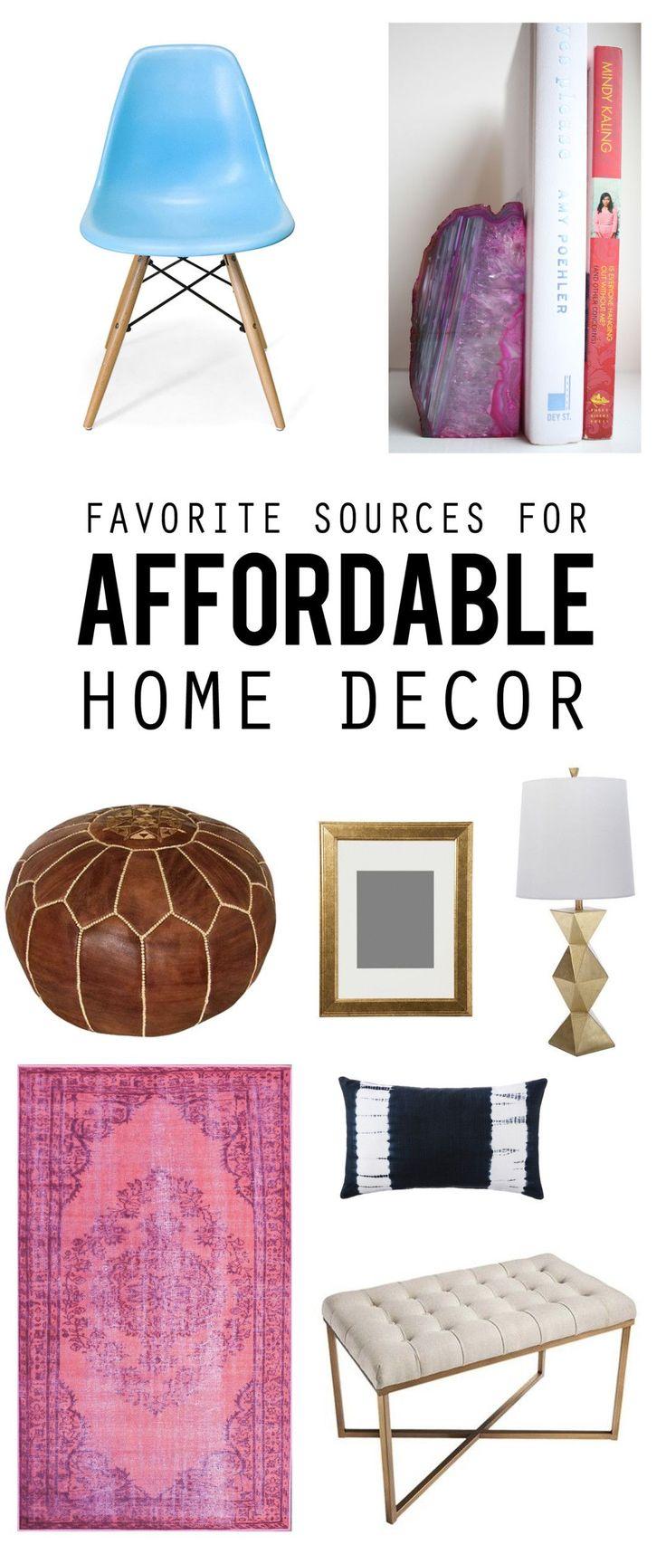 Best 25 Affordable Home Decor Ideas On Pinterest