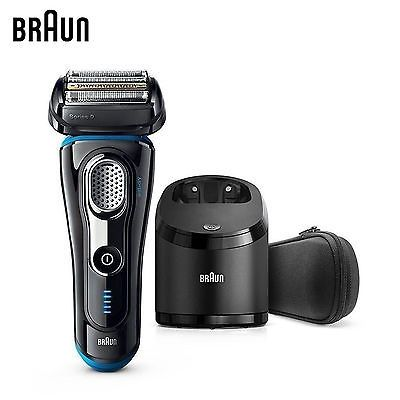 Braun 9280CC Series 9 Men's Electric Shaver Self-Cleaning Wet-Dry LED display