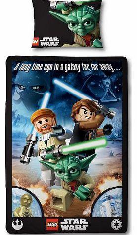 Character World 135 x 200 cm Lego Star Wars Galaxy Single Panel Duvet Set, Multi-Color Parure de lit sous licence officielle, composée dune housse de couette 135 x 200 cm et dune taie doreiller 48 x 74 cm. Composition: 50% polyester, 50% coton. (Barcode EAN = 5055285331467). http://www.comparestoreprices.co.uk//character-world-135-x-200-cm-lego-star-wars-galaxy-single-panel-duvet-set-multi-color.asp