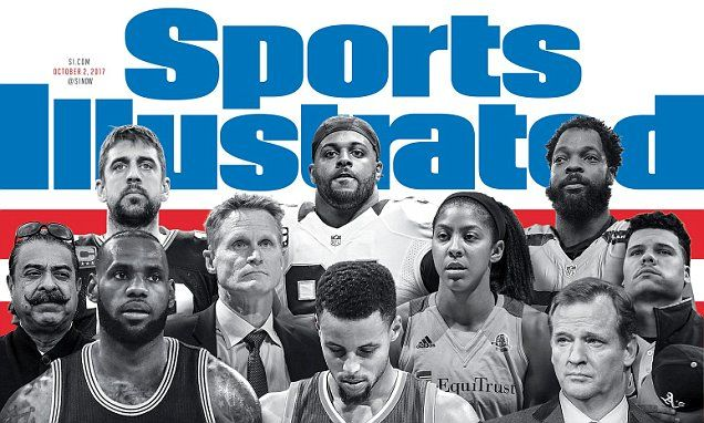 Warriors blast Sports Illustrated cover on protests | Daily Mail Online