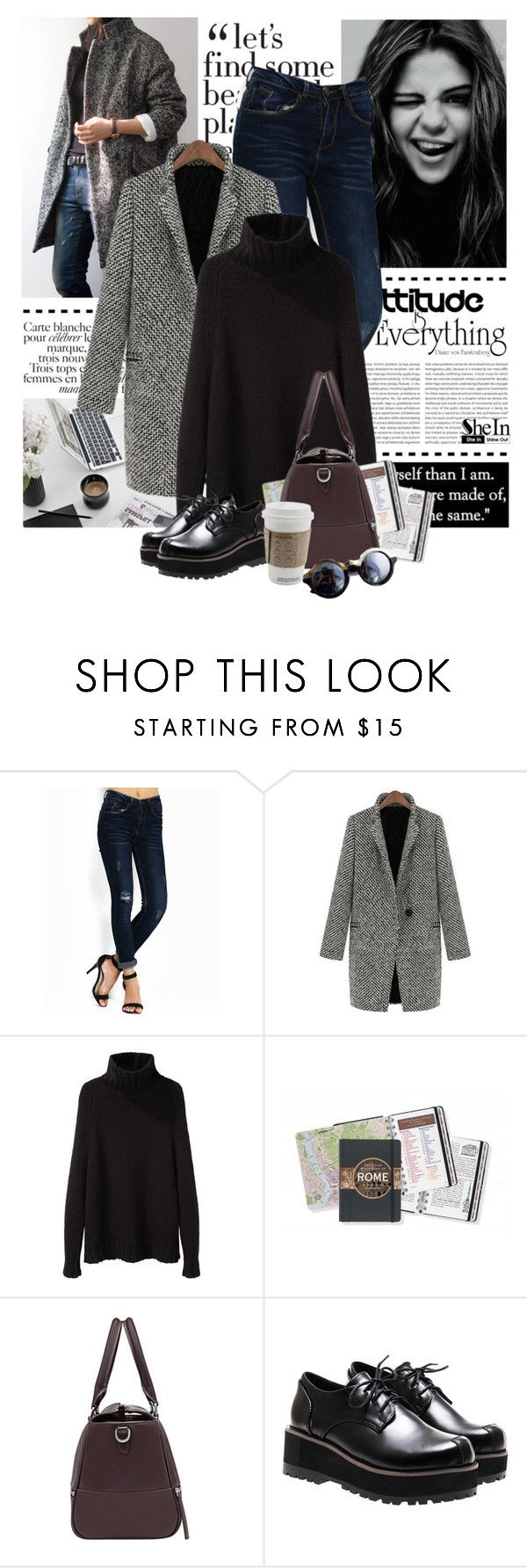 """Shein - Shop"" by yexyka ❤ liked on Polyvore featuring BRONTE and La Garçonne Moderne"