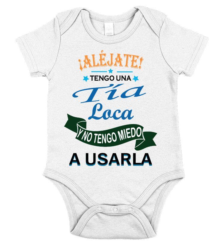 Tía Loca!!  #nephew #nephewshirts #giftfornephew #niece #nieceshirts #giftforniece #family #hoodie #ideas #image #photo #shirt #tshirt #sweatshirt #tee #gift #perfectgift #birthday #Christmas
