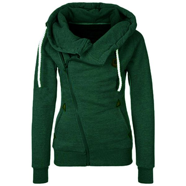 17 best ideas about Green Zip Up Hoodies on Pinterest | Green zip ...