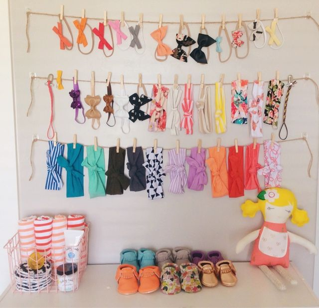 Headband and bow storage                                                                                                                                                                                 More