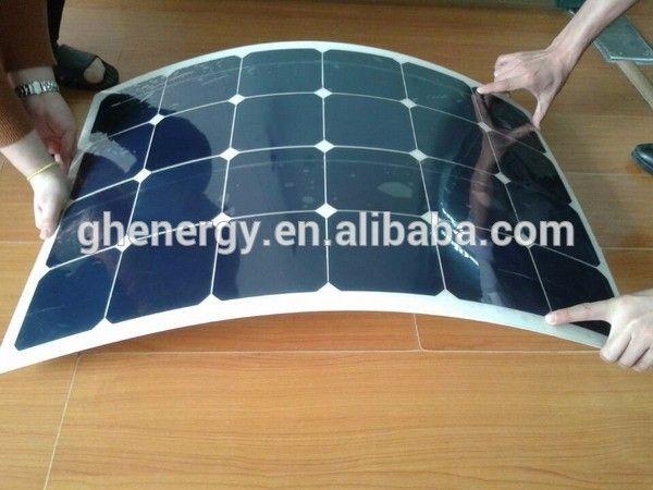 GH SOLAR-thin film solar panel Solar modules for home use PV system