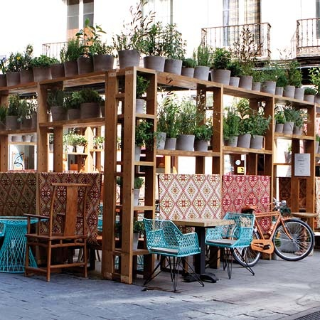 LÁZARO ROSA-VIOLAN - Restaurante Ginger - DecorAccion - La decoración sale a la calle - Revista de decoracion Nuevo Estilo