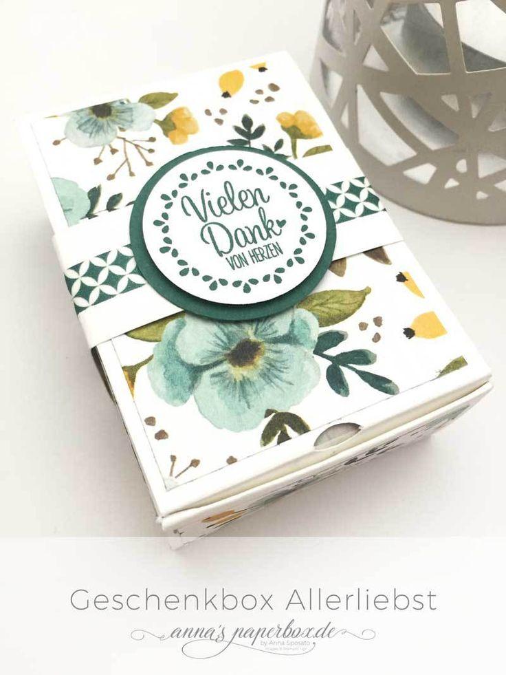 """Geschenkbox """"Allerliebst"""" - anna's paperbox"""