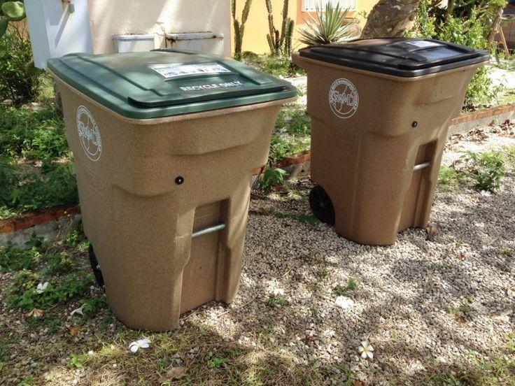 グアムの一般家庭に リサイクル用ゴミ箱配布中 : グアムビジターズバイブル グアムの一般家庭に、リサイクル用のゴミ箱が配布されはじめました