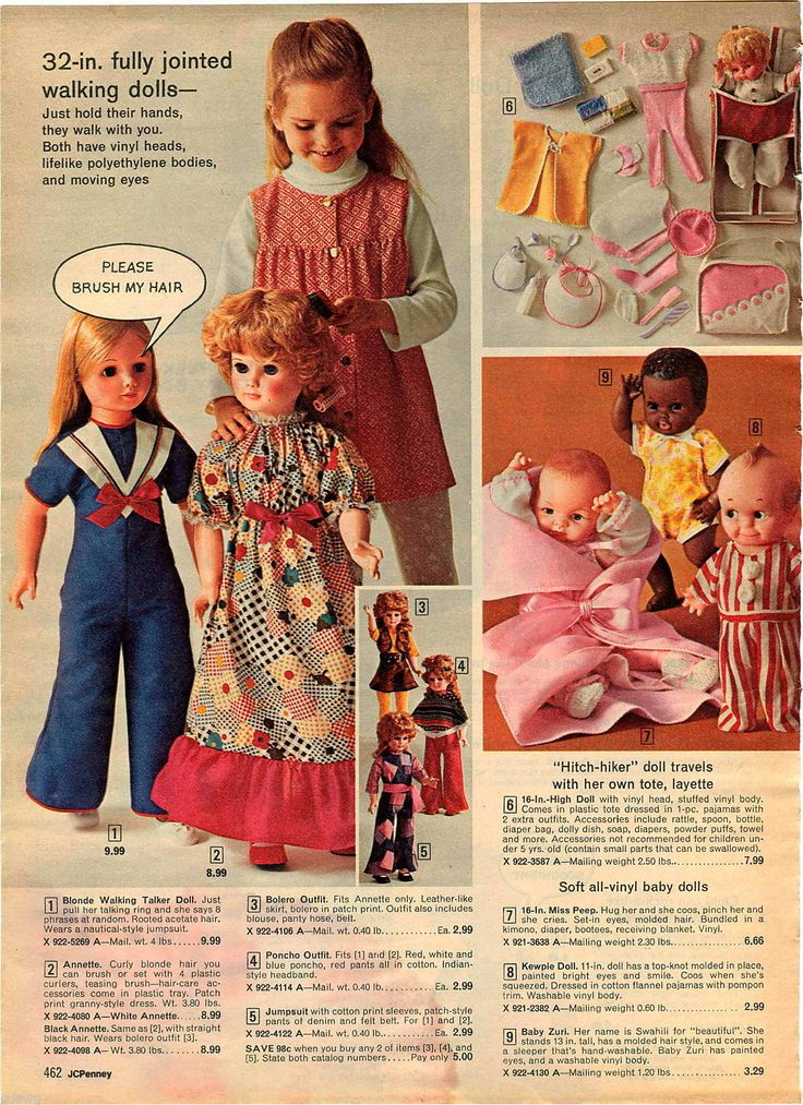 "1972 ADVERT 32"" Walking Doll Annette Black Doll Baby Zuri Kewpie Flip Wilson   eBay"