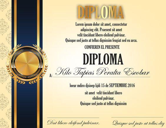 #espaciohonduras Diseños de Diplomas para mas información visitar el siguiente Link: http://www.espaciohonduras.net/diseno-de-diplomas-para-graduacion-coreldraw-ilustrador: