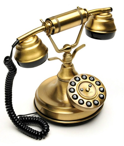 16 best old fashioned telephones images on pinterest vintage phones phone and retro phone - Telefono fisso design ...