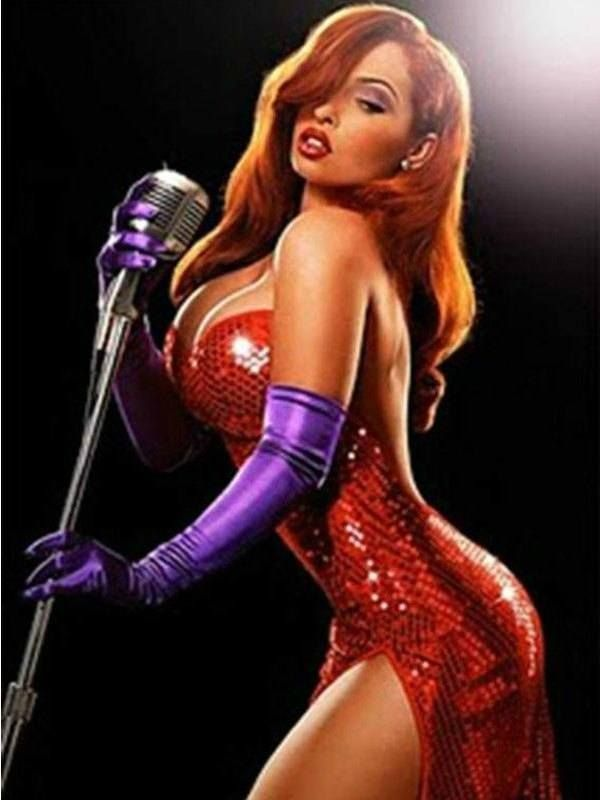 Jessica Rabbit. You Can't Miss This! The 18 Most Famous Cartoon Characters In 3D • Page 4 of 5 • BoredBug