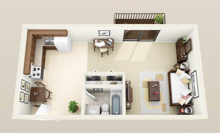 Square Foot Apartment Plans