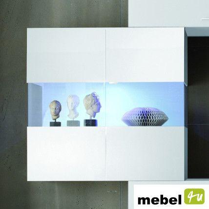 Witryna szklana wisząca NOEL - sklep meblowy