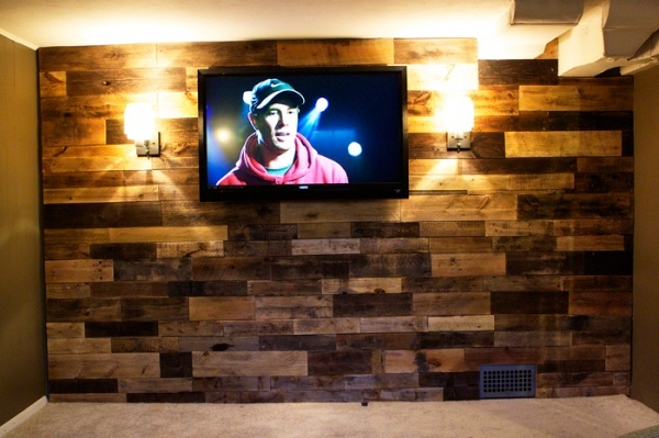 Man Cave Urban List : Palette wall ideas for the half bath remodel to do list