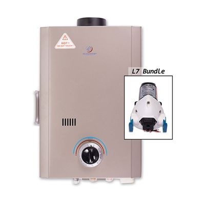 Eccotemp NE34002 L7 Portable Tankless Water Heater w/ 12v Flojet Pump