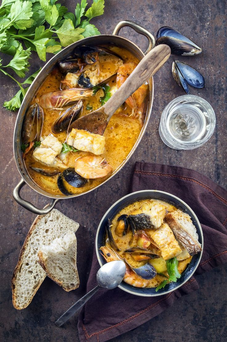 Bouillabaisse - discover what to eat in Marseille France. The first rule: do not miss this iconic seafood stew.