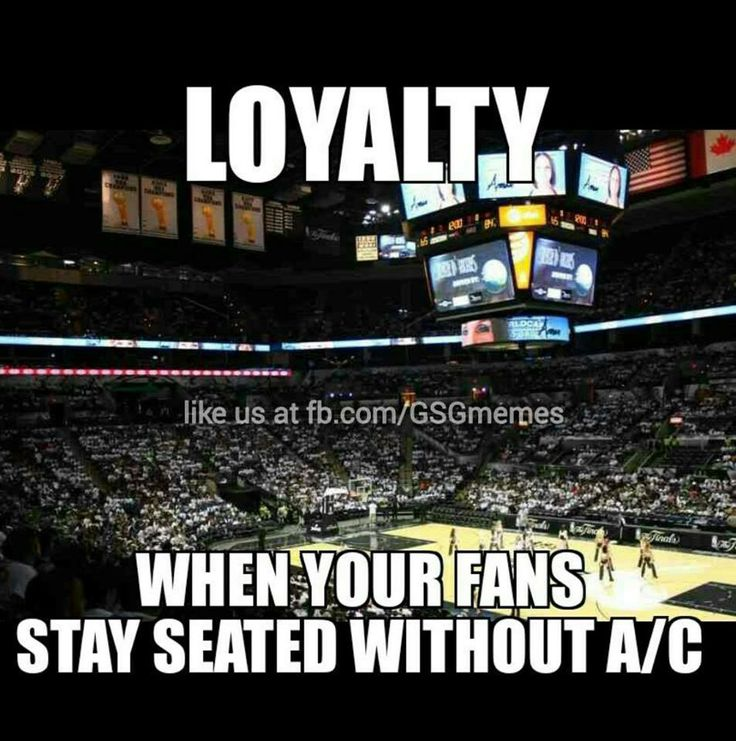 SPURS FANS ARE LOYAL, WIN OR LOSE