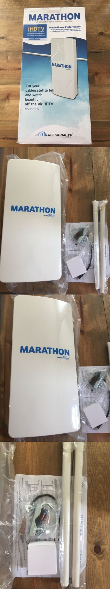 Antennas and Dishes: Marathon Hdtv Long Distance Amplified Indoor / Outdoor Digital Tv Antenna. Long BUY IT NOW ONLY: $119.99