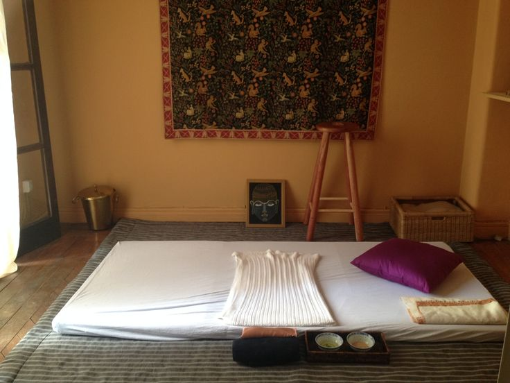set de yoga massagem ayurvédica
