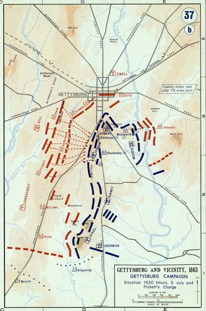 a fight over slavery the battle of gettysburg Find this pin and more on us history ideas by lukeroro battle of  battle of gettysburg map showing the fight for the devil's  this slavery timeline covers 3.
